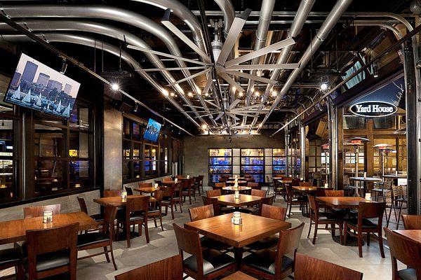Yard house boston restaurant lighting pinterest a