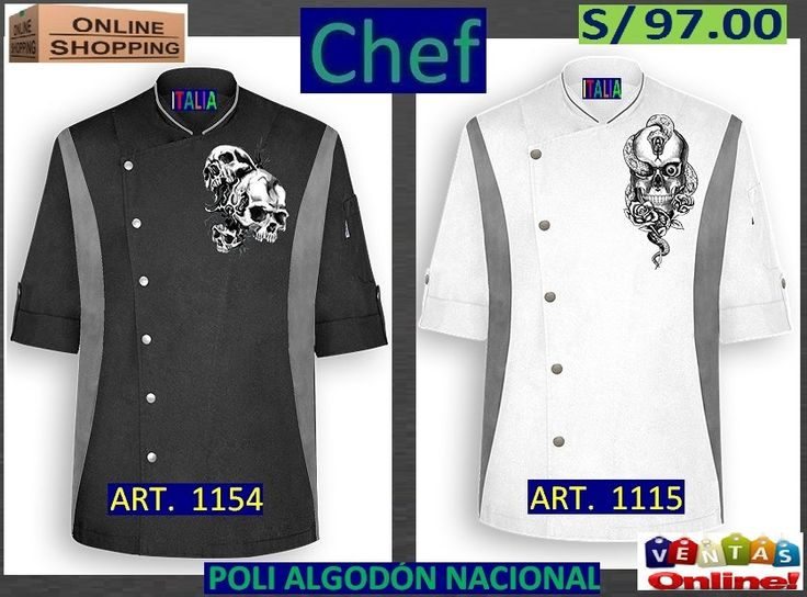Best 25 ropa de chef ideas on pinterest delantal cocina delantal de ni os and delantal de chef - Uniformes de cocina ...