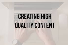 Create Eye Catching High Quality Content