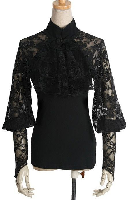 neo victorian clothing | ... Rave T-290 Neo-victorian blouse elegant ... | Fashion Victorian