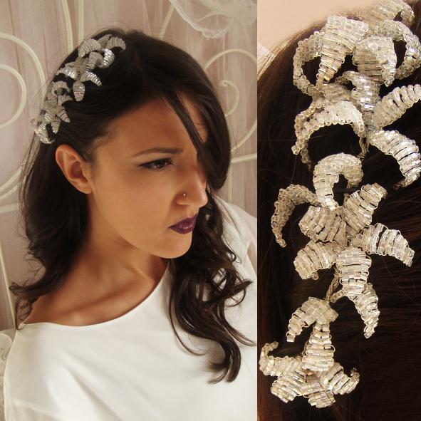 handmade beads flowers