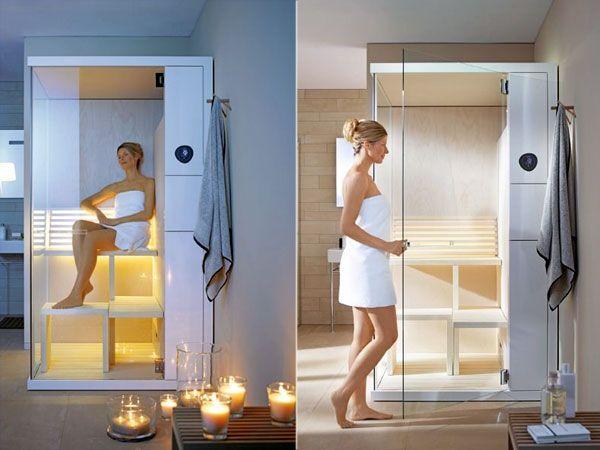 La SAUNA COMPATTA. Che cos'è? E' una piccola SPA nel bagno di casa e oggi vi spieghiamo il funzionamento e la dotazione. http://www.arredamento.it/bagno/sauna-hammam-bagno-turco/sauna-compatta.html #consiglibagno #spa #saunacompatta #arredobagno