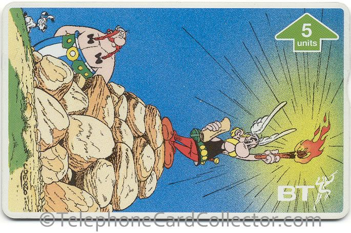 BTG619 - BT Phonecard - Asterix (3) - The Statue of Liberty