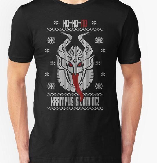 hohohokrampus tshirt