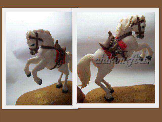 Лошадь из мастики. Мастер классы + видео