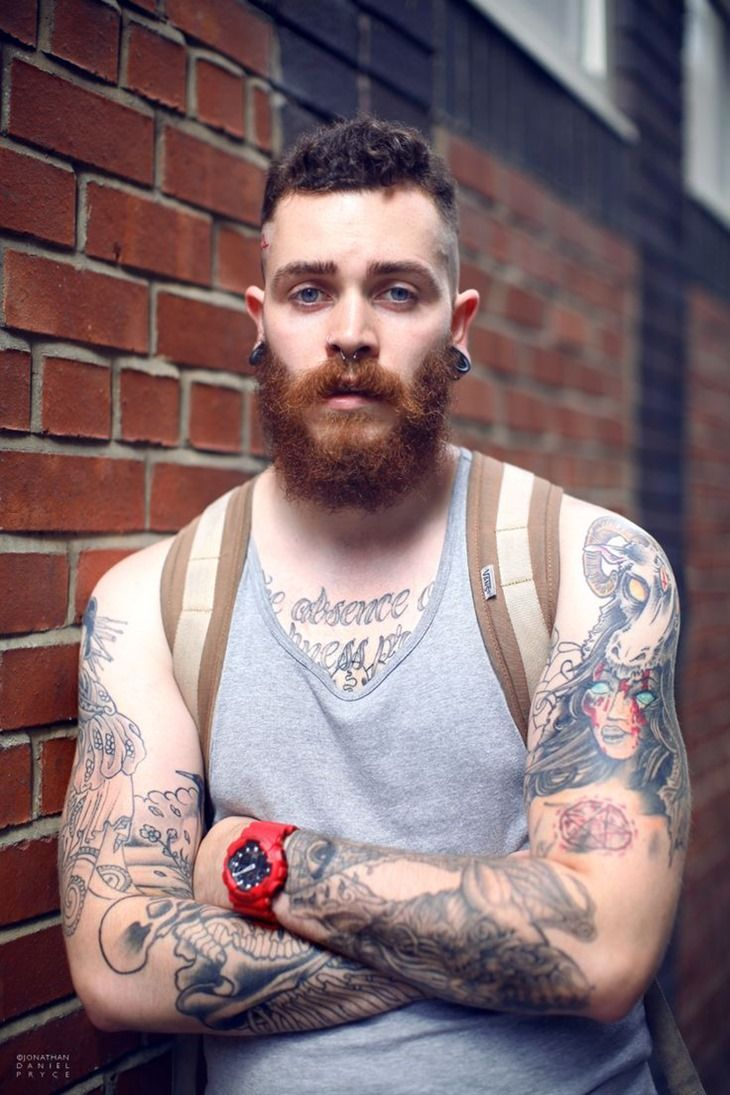 Cool Guy with Amazing Arm Tattoo