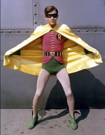 """Burt Ward as Robin  """"Batman"""" (1966-68)"""