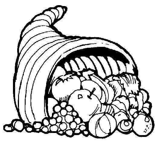 Top 25 best thanksgiving coloring sheets ideas on for Cornucopia printable coloring pages