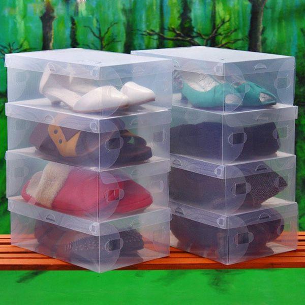 Best 25 shoe box storage ideas on pinterest diy makeup for Cajas de plastico transparente
