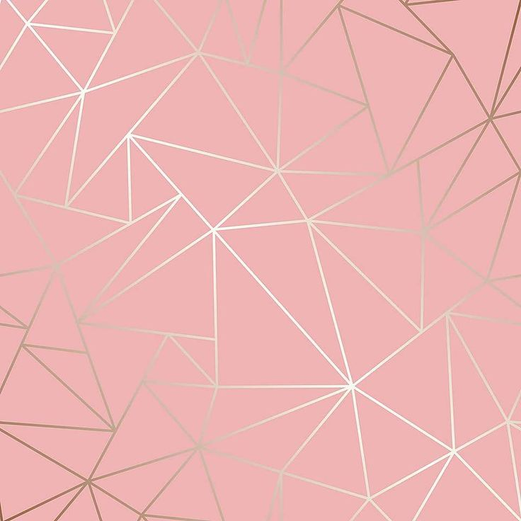 Geo Pink Metallic Wallpaper | Metallic wallpaper, Pink ...
