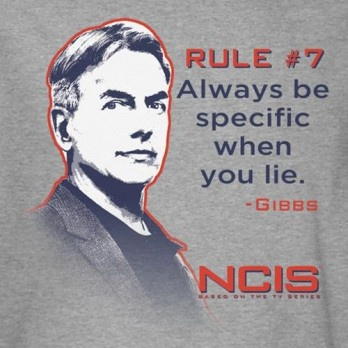 Gibbs' Rules -- <3 NCIS