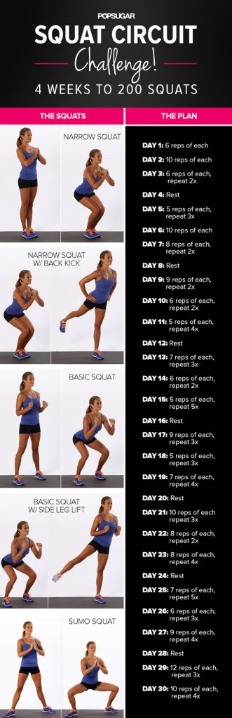 Squat Challange | Posted By: AdvancedWeightLossTips.com