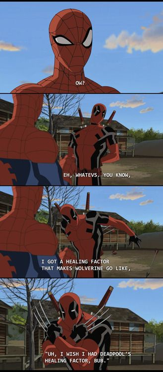 """Spider-Man and Deadpool - Ultimate Spider-Man 2x16 """"Ultimate Deadpool"""""""