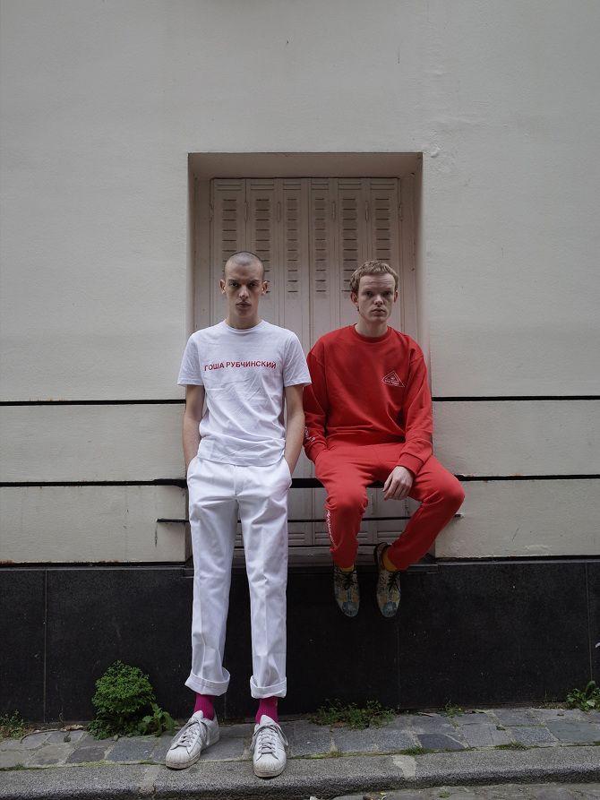 GOSHA RUBCHINSKIY SS15 - slaventiy | Follow @FILET. for more street style #filetlondon