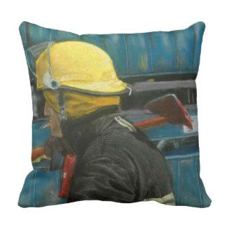 Square cushion accomplished Duty Throw Pillow