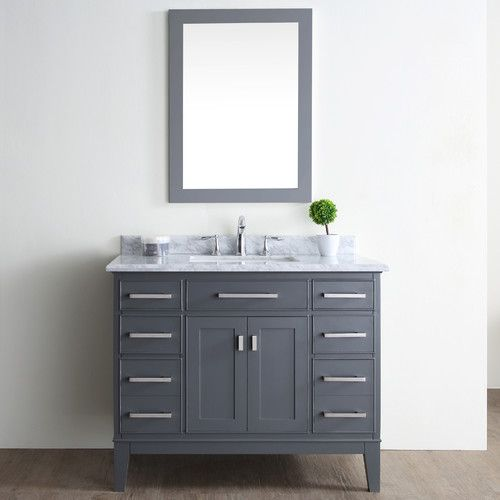 "Found it at Wayfair - Danny 42"" Single Bathroom Vanity Set"