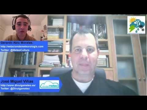 Charlas de Meteorología: Entrevista a José Miguel Viñas - Cultura meteorológica, estaciones meteorologicas y tecnologia