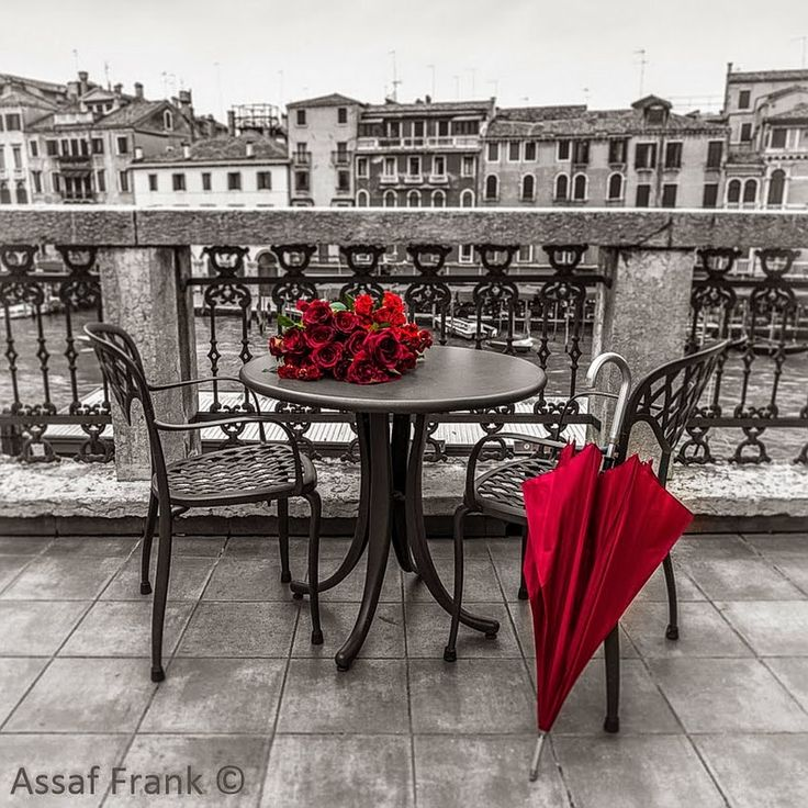 Assaf Frank, 1971 ~ Misty morning in Venice | Tutt'Art@ | Pittura * Scultura * Poesia * Musica |