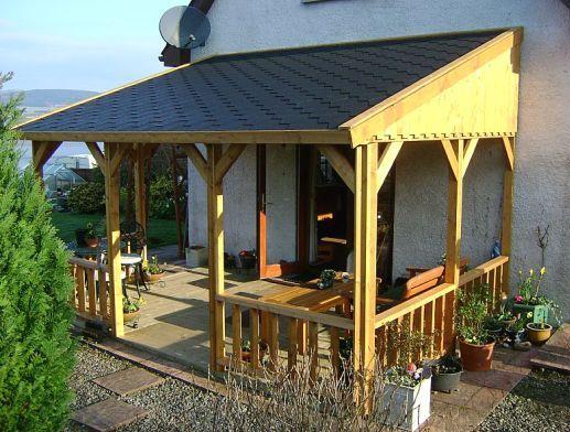 Веранда, пристроенная к дому - дизайн и строительство своими руками