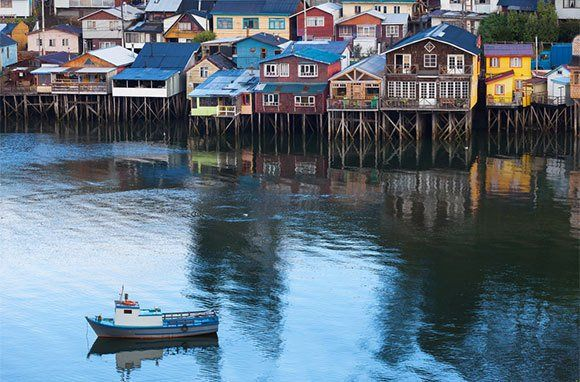 The charming, little-known island of Chiloe, Chile.