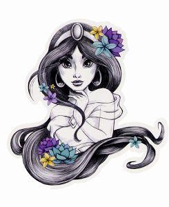1000 ideas about jasmine tattoo on pinterest bell for Aladin tattoo salon
