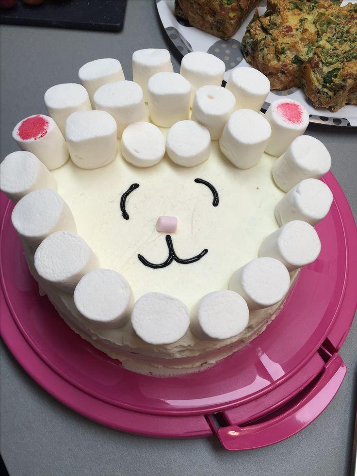 Easter sheep cake