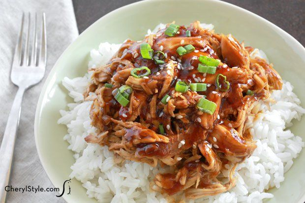 Toss your ingredients in the slow cooker then walk away and enjoy the day! This easy slow cooker honey garlic chicken recipe is unbelievable!