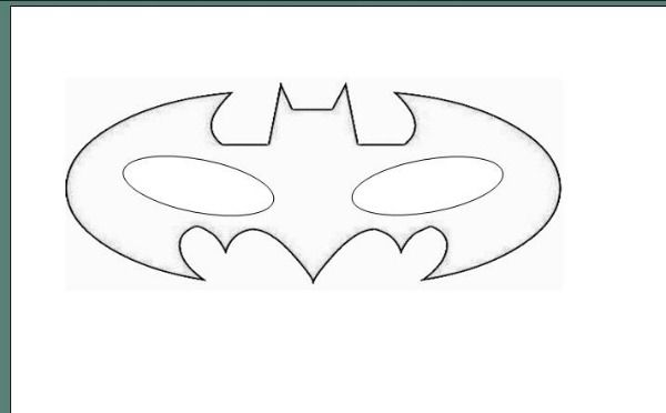 Lauras Crafty Life: How To: Batman Mask