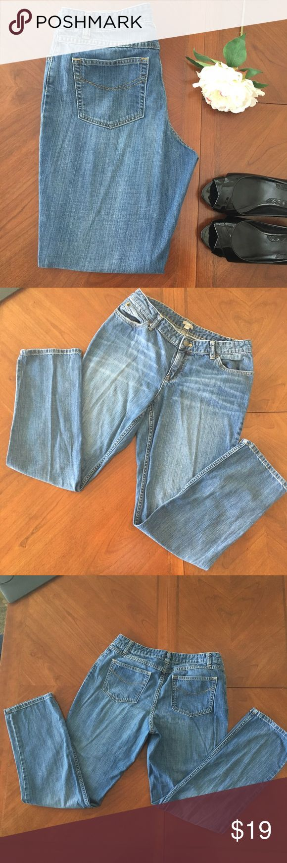 J. Jill blue medium wash flare leg jeans size 10 J. Jill blue flare leg size 10 Jeans  Brand: J. Jill Color: Medium Blue Style: Flare Size: 10 Condition:VGUC  Approx measurements and fabric content pictured Smoke free home J. Jill Jeans Flare & Wide Leg