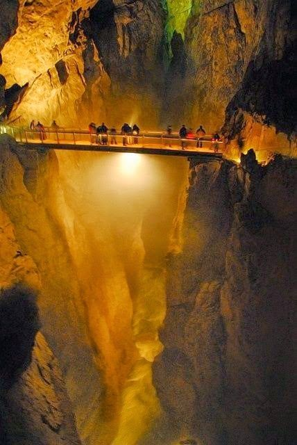 Skocjan Caves, Slovenia - Explore the World, one Country at a Time. http://TravelNerdNici.com