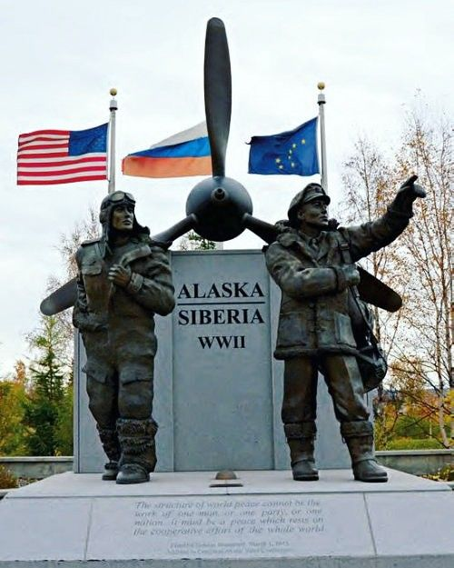 Image result for lend lease alaska statue