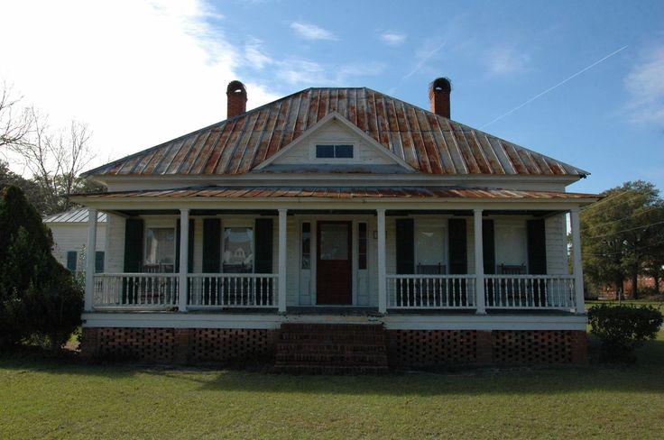 Springfield Ga Effingham County Vernacular Style Pyramidal