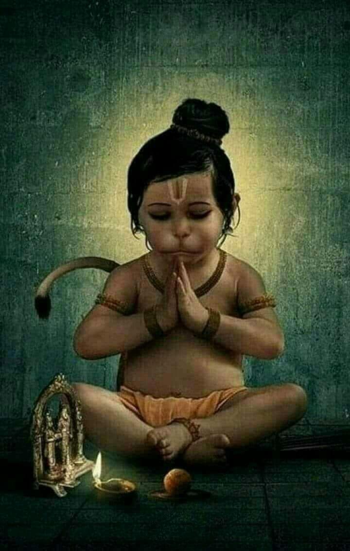 Cute Baby Hd Wallpaper Baby Hanumanji Hanuman Images In 2019 Hanuman Hanuman
