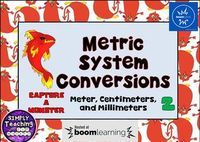 FREE  Metric System Conversions  Digital Boom Cards using meters, centi-, and milli-