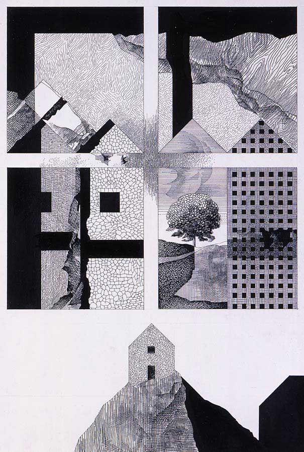 """Franco Purini, """"I paesaggi dell'architettura"""", 1980"""