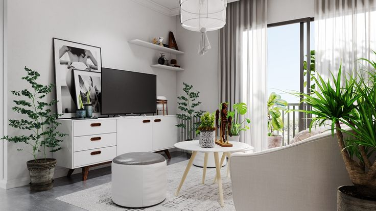Roohome.com - What kind of home design that you want? Here we suggest you applying aScandinavianhome design that looks so chic with modern interior design in it. The designer has been explained how to arrange it to make it become so perfect and awesome. This design combining a gray and ...