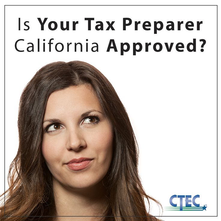 how to become a tax preparer in california