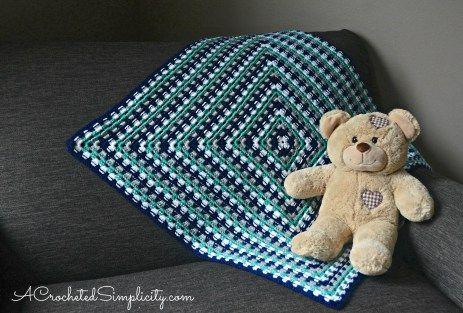 338 besten Crochet-granny blankets/afghans Bilder auf Pinterest ...