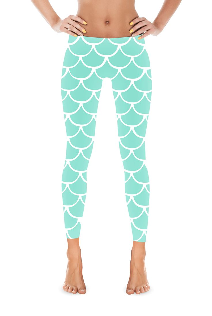 Be the bipedal Mermaid you were born to be in these adorable leggings! With your legs pressed together you will really be indistinguishable from a real Mermaid. Which are obviously real, and will probably ask you to join them for a new carefree life under the sea. #mermaid