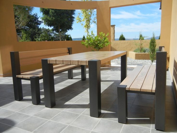 Garden furniture sets with modern feel but classic design!