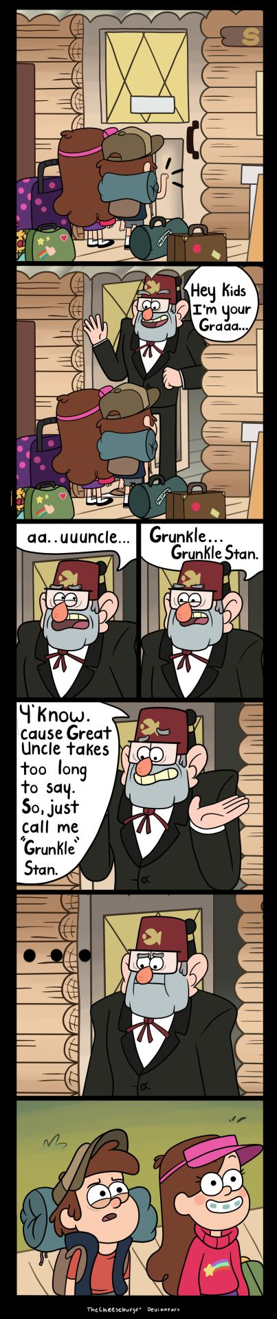 Grandpa Stan   by TheCheeseburger