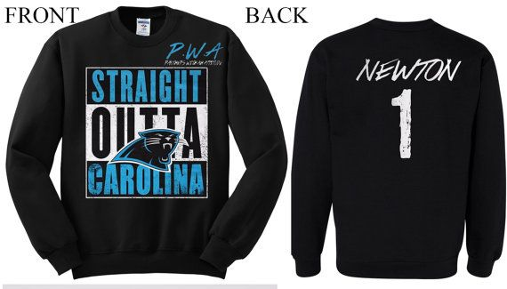 Carolina Carolina PANTHERS JERSEY NFL sweatshirt  by KAMA4KCUSTOMS