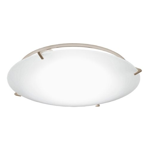 Decorative ceiling trim with frosted glass for 5 and 6 inch recessed housings