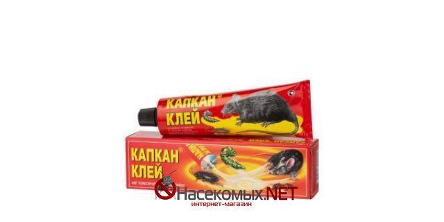 Клей Капкан 135 г - клейкая масса для отлова грызунов. Состав: каучуки, растительные масла, минеральные масла, смола хвойных растений. Предназначен против мышей, крыс, тараканов, мух, клопов, муравьев. Купить средство Клей Капкан в нашем интернет-магазине.