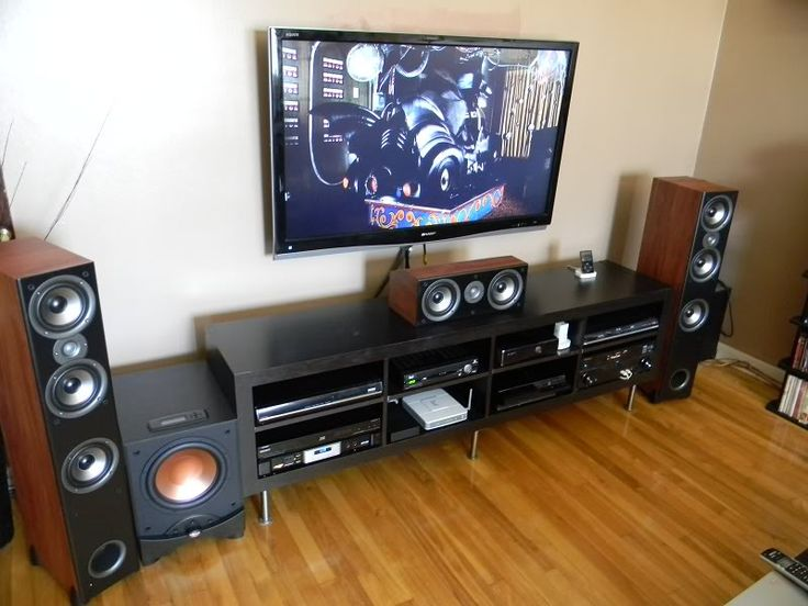 home theater and gaming setup - Bing Images