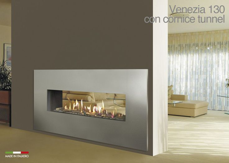 Steel frames for ITALKERO gas fireplaces, available in any RAL colour upon request