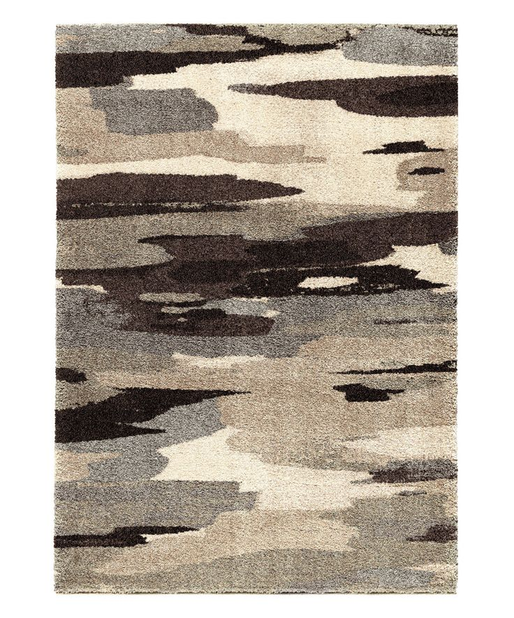 Loving this Black Cyna Rug on #zulily! #zulilyfinds