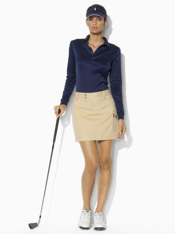 Long-Sleeved Polo - Ralph Lauren Golf Polos - $59