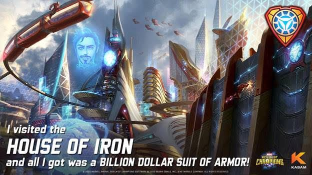 More Details On Iron Man S House In Marvel Realm Of Champions In