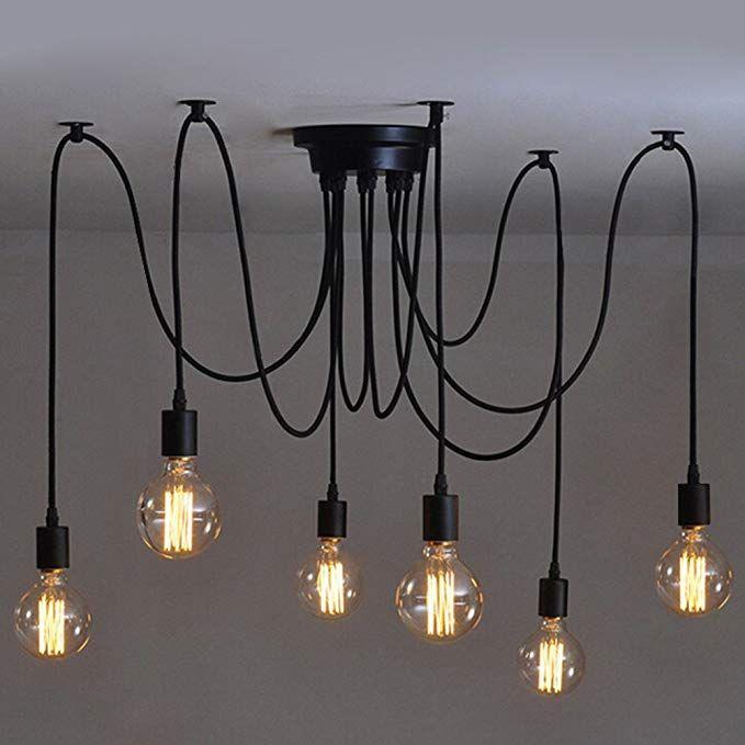 6 Pcs Luminaire Suspension Style Europeen Moderne Ikea Lampe